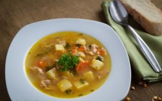 Суп со свиными ребрышками - фото шаг 10