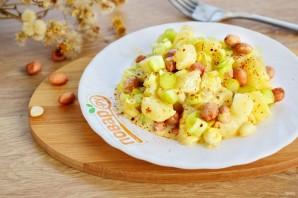 Салат картофельный с ананасом - фото шаг 3
