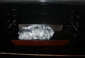 Мясо с киви в духовке - фото шаг 7