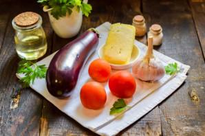 Баклажаны с адыгейским сыром