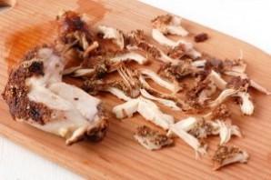 Салат с курицей и мандаринами - фото шаг 12