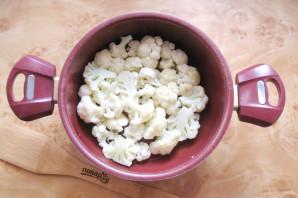 Цветная капуста в томатной заливке - фото шаг 3