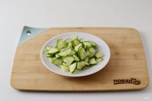 Салат с нутом - фото шаг 4