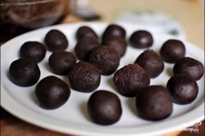 Печенье с мятой и темным шоколадом - фото шаг 6