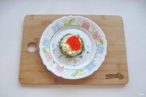 Бутерброды с красной икрой на Новый Год - фото шаг 7