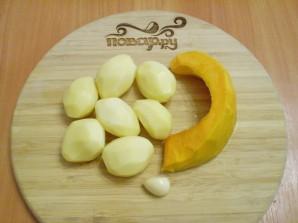 Оладьи из тыквы с картофелем - фото шаг 2