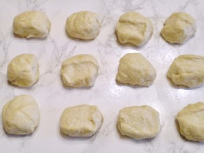 Пирожки без дрожжей в духовке - фото шаг 5