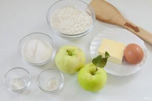 Мягкое яблочное печенье - фото шаг 1