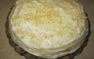 Блинный торт со сметанным кремом - фото шаг 6