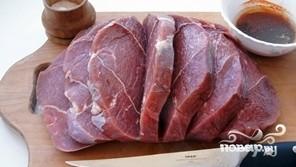 Шашлык из говядины в духовке - фото шаг 2
