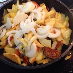 Баклажаны с картошкой - фото шаг 6
