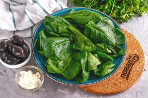 Салат с тунцом и маслинами - фото шаг 2