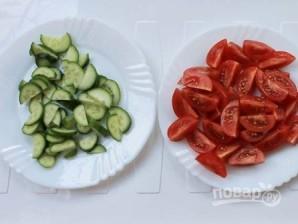 Салат из зеленой гречки - фото шаг 2