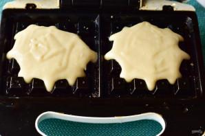 Вафли на молоке в электровафельнице - фото шаг 7