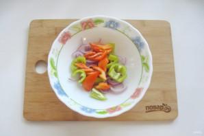 "Салат ""Лакомка"" из помидор на зиму - фото шаг 3"