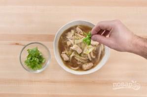 Суп Удон с курицей - фото шаг 5