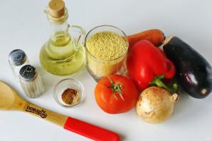 Кус-кус с овощами в мультиварке - фото шаг 1