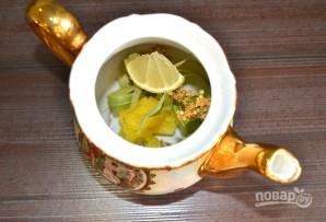Липовый чай с медом - фото шаг 4
