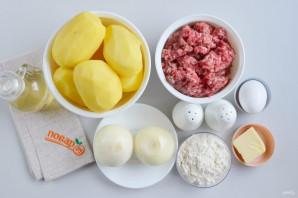 Фаршированные картофельные оладьи - фото шаг 1