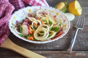 Салат из фасоли, сладкого картофеля и авокадо - фото шаг 9