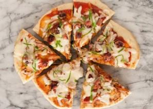 """Очень быстрая пицца """"Молния"""" - фото шаг 11"""