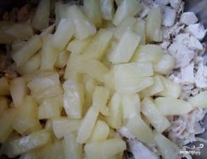 Cалат с курицей и авокадо - фото шаг 2