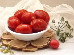 Соленые помидоры как бочковые - фото шаг 5