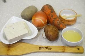 ПП сырный суп - фото шаг 1