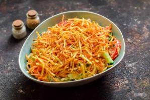 """Салат """"Муравейник"""" с корейской морковью - фото шаг 9"""