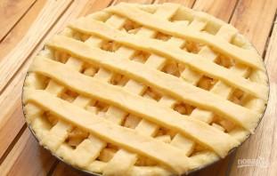 Простой рецепт яблочного пирога - фото шаг 11