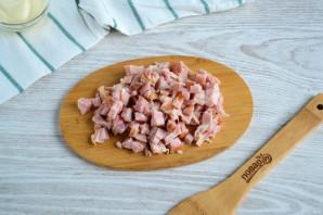Салат с копченым мясом и огурцом - фото шаг 2