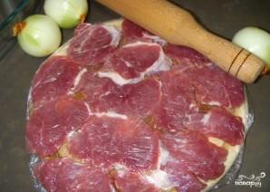 Свинина по-французски с грибами - фото шаг 1