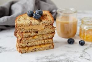 Сэндвич с арахисовым маслом и джемом - фото шаг 6