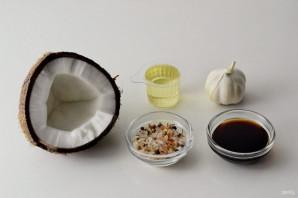 Жареный кокос