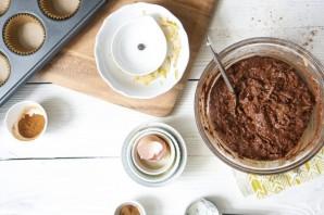 Шоколадные кексы с грушами - фото шаг 3