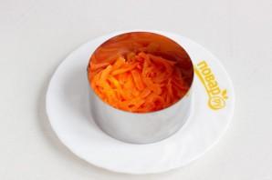 Салат с курицей и колбасой - фото шаг 2