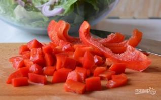 Салат из тунца в масле - фото шаг 6