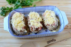 Котлеты под шубой с помидорами и сыром - фото шаг 6