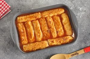 Рулетики из теста с картошкой - фото шаг 10