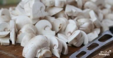 Шампиньоны с картошкой в горшочках - фото шаг 3