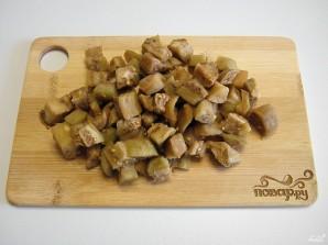 Икра из баклажанов кусочками - фото шаг 5