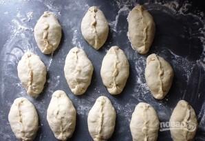 Рецепт пирожков с яйцом - фото шаг 8