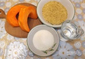 Рисовая каша с тыквой на воде - фото шаг 1