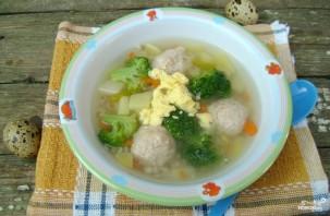 Детский суп с фрикадельками - фото шаг 4