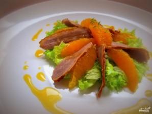 Салат с утиной грудкой и апельсинами - фото шаг 5
