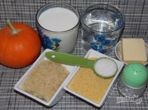 Пшенно-рисовая каша на молоке - фото шаг 1