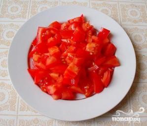 Греческий салат на Новый год - фото шаг 2