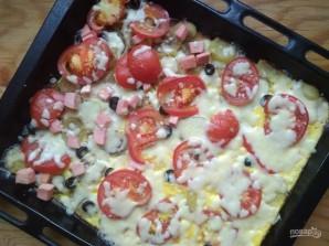 Картофельная пицца с помидорами - фото шаг 11