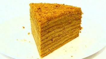 """Торт """"Рыжик"""" с заварным кремом - фото шаг 7"""