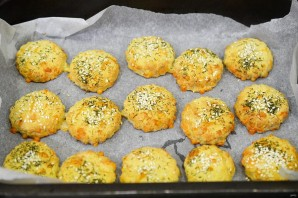 Сырное печенье с горчицей - фото шаг 6